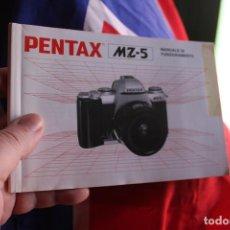 Cámara de fotos: FOLLETO PENTAX MZ-5. Lote 64021435