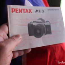 Cámara de fotos: FOLLETO PENTAX MZ-3. Lote 64021547