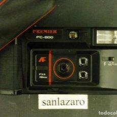 Cámara de fotos: CÁMARA FOTOGRÁFICA DE 38 MM AUTOFOCUS MARCA PREMIER PC-800 CON FLASH INCORPORADO F274. Lote 64442311