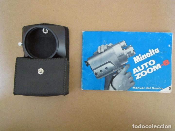 Tomavistas minolta auto zoom 8 con accesorios,m - Sold