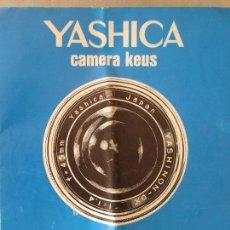 Cámara de fotos: YASHICA. Lote 65268955