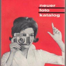 Fotocamere: CATALOGO CAMARAS FOTOGRAFICAS. EN ALEMAN. CIRCA 1960. Lote 65287307