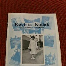 Cámara de fotos: REVISTA KODAK PARA FOTOGRAFOS AFICIONADOS. MADRID. AGOSTO SEPTIEMBRE 1931. Lote 65400511