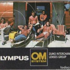 Cámara de fotos: CATALOGO OBJETIVOS OLYMPUS. OM SYSTEM. Lote 186684230