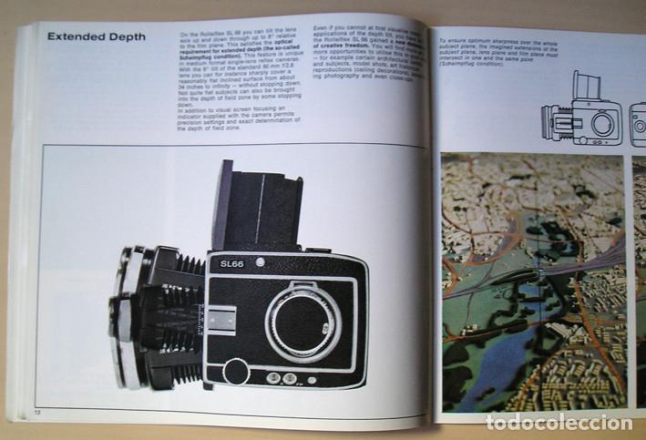 Cámara de fotos: Magnífico folleto de la cámara y el sistema Rolleiflex SL66 - (1970) - Foto 5 - 66796358