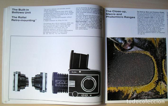 Cámara de fotos: Magnífico folleto de la cámara y el sistema Rolleiflex SL66 - (1970) - Foto 7 - 66796358