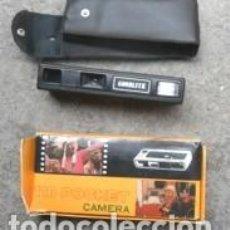 Cámara de fotos: CAMERA 110 POCKET, ELECTROFLASH, EN SU CAJA. Lote 66826310