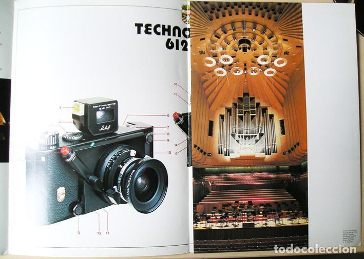 Cámara de fotos: Linhof Technorama 612 PC – folleto de 1985 - Foto 3 - 67263049