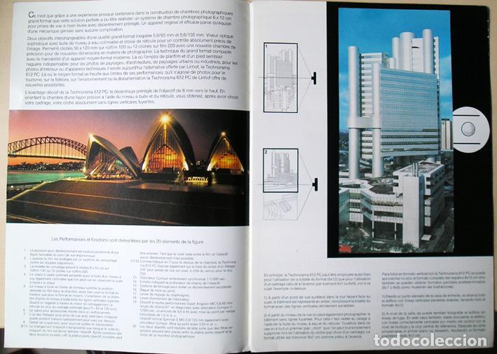 Cámara de fotos: Linhof Technorama 612 PC – folleto de 1985 - Foto 4 - 67263049