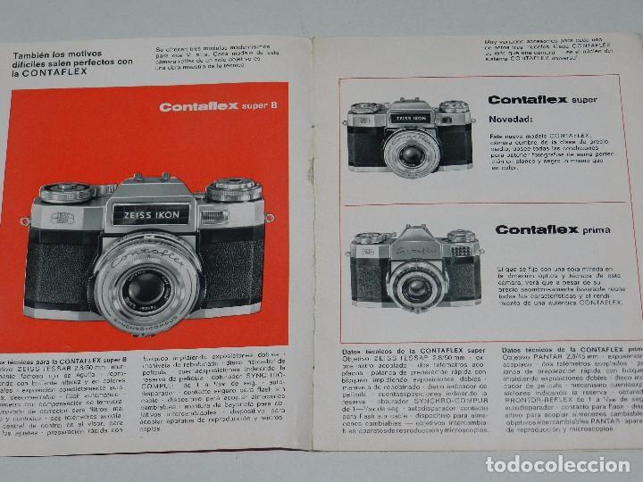 Cámara de fotos: (M) CATALOGO CAMARA DE FOTOGRAFIAS ZEISS IKON CONTAFLEX , ILUSTRADO - Foto 2 - 67600709