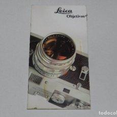 Cámara de fotos: (M) CATALOGO CAMARA DE FOTOGRAFIAS LEICA OBJETIVOS , MUY ILUSTRADO. Lote 67601857