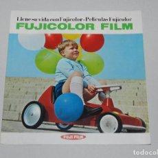 Cámara de fotos: (M) CATALOGO CAMARA DE FOTOGRAFIAS FUJICOLOR FILM , ILUSTRADO. Lote 67602129
