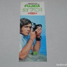 Cámara de fotos: (M) CATALOGO CAMARA DE FOTOGRAFIAS FUJICA ST701 FUJI FILM , ILUSTRADO. Lote 67602181