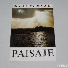 Cámara de fotos: (M) CATALOGO CAMARA DE FOTOGRAFIAS HASSELBLAD PAISAJE , ILUSTRADO. Lote 67604977