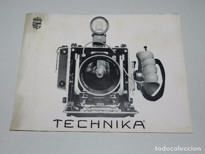 (M) CATALOGO CAMARA DE FOTOGRAFIAS LINHOF TECHNIKA (Cámaras Fotográficas - Catálogos, Manuales y Publicidad)