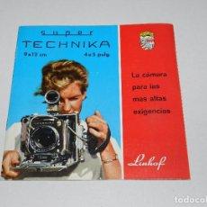 Cámara de fotos: (M) CATALOGO CAMARA DE FOTOGRAFIAS LINHOF SUPER TECHNIKA. Lote 67606713