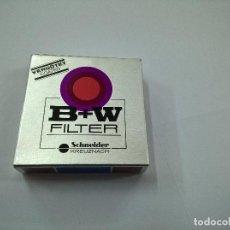 Cámara de fotos: FILTRO B+W 49ES KR1.5 1.1X -N. Lote 67919129