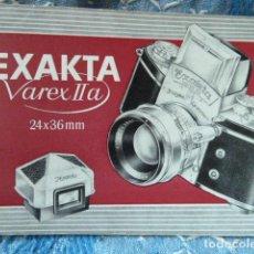 Cámara de fotos: EXACTA VAREXIIA MANUAL DE INSTRUCIONES. Lote 68839253