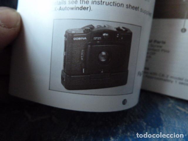 Cámara de fotos: COSINA CX-1 CX-2 MANUAL DE INTRUCCIONES - Foto 2 - 68841129