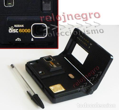 CÁMARA FOTOS KODAK DISC 6000 DE DISCO - ANTIGUA VINTAGE - MÁQUINA DISC6000 - FOTOGRAFÍA -MÁS EN VENT (Cámaras Fotográficas - Otras)