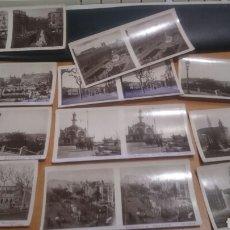 Cámara de fotos: COLECCIÓN DE 11 FOTOGRAFÍAS ESTEROSCOPICAS DE BARCELONA DE RELLEV. Lote 70167463