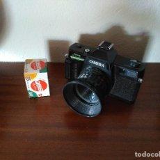 Cámara de fotos: CAMARA ANALOGICA, AÑOS 80 + CARRETE 36. Lote 71621651