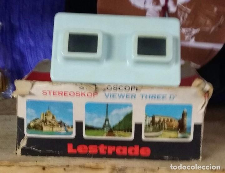 ESTEREOSCOPIO MARCA LESTRADE (Cámaras Fotográficas - Visores Estereoscópicos)