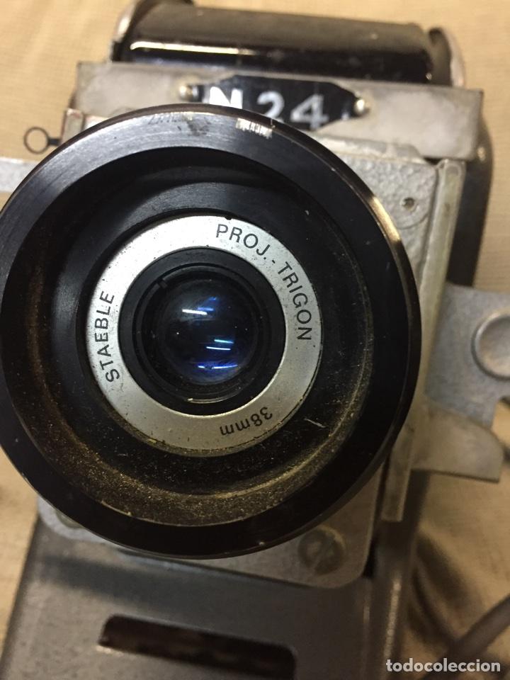 Cámara de fotos: Genial PROYECTOR DIAPOSITIVAS UNOSCOP FOCAL. Años 60 FUNCIONANDO - Foto 5 - 72724381