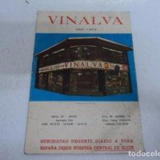 Cámara de fotos: PRECIOSO CATALOGO ANTIGUO DE CAMARAS DE FOTOGRAFIA VINALVA 1973 CAMARA Y PROYECTOR SUPER 8. Lote 74977163