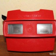 Cámara de fotos: VISOR 3-D VIEW-MASTER CON 3 RUEDAS AÑOS 70 FABRICADO BELGICA. Lote 75122083