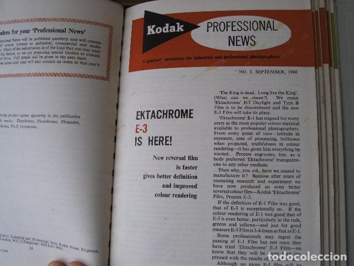 Cámara de fotos: 9 revistas kodak professional news en su fichero 1960 a 1962 (en ingles) - Foto 3 - 76798755