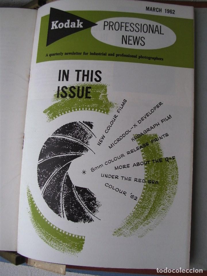 Cámara de fotos: 9 revistas kodak professional news en su fichero 1960 a 1962 (en ingles) - Foto 4 - 76798755