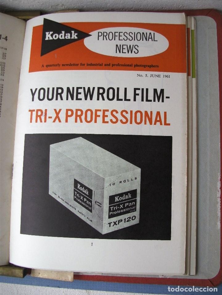 Cámara de fotos: 9 revistas kodak professional news en su fichero 1960 a 1962 (en ingles) - Foto 5 - 76798755