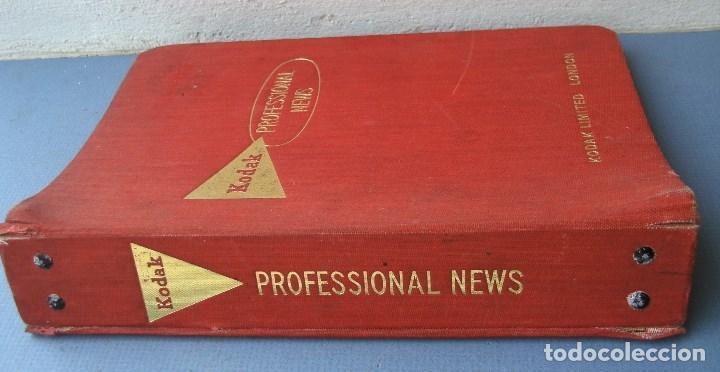 Cámara de fotos: 9 revistas kodak professional news en su fichero 1960 a 1962 (en ingles) - Foto 6 - 76798755