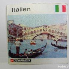 Cámara de fotos: ITALIA DE VIEW MASTER. Lote 220809543