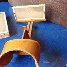Cámara de fotos: VISOR ESTEREOSCOPICO CON 11 CRISTALES 3D. S.XIX. Lote 78862550