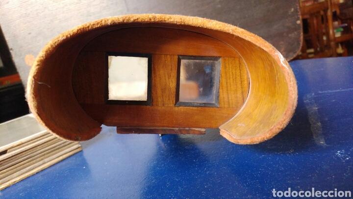 Cámara de fotos: Visor estereoscopico con 11 cristales 3d. S.XIX - Foto 2 - 78862550
