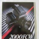 Cámara de fotos: TRIPTICO PUBLICIDAD HASSELBLAD 2000 FCW. 1985. EN CASTELLANO. Lote 80326429