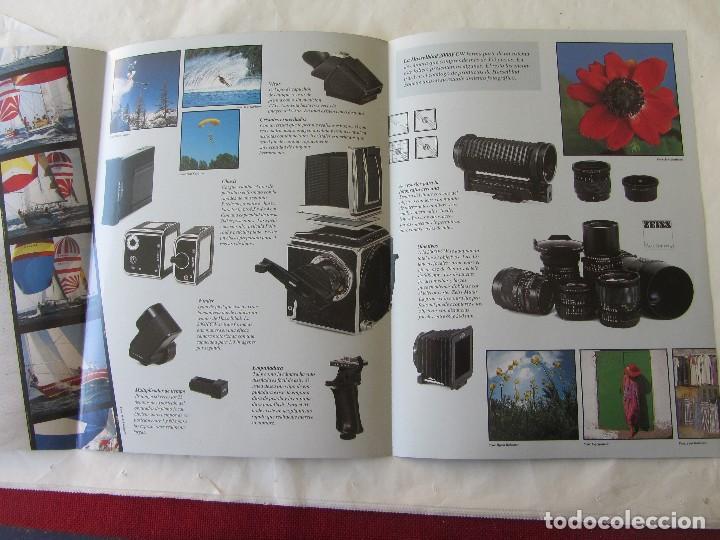 Cámara de fotos: TRIPTICO PUBLICIDAD HASSELBLAD 2000 FCW. 1985. EN CASTELLANO - Foto 2 - 80326429