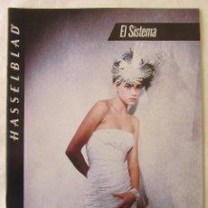 Cámara de fotos: CATALOGO PUBLICIDAD HASSELBLAD EL SISTEMA. 1985. EN CASTELLANO. Lote 80326969
