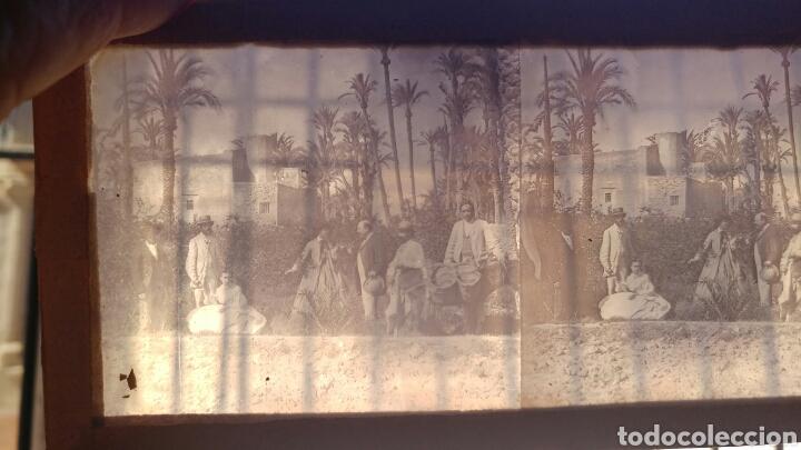 Cámara de fotos: Visor estereoscopico con 11 cristales 3d. S.XIX - Foto 17 - 78862550