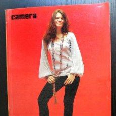 Cámara de fotos: CAMERA, ED. FRANÇAISE. JANIS JOPLIN. LOUIS STETTNER, H.P.SCHMID, JIM MARSHALL, MICHELE VIGNES. 1972. Lote 80410385