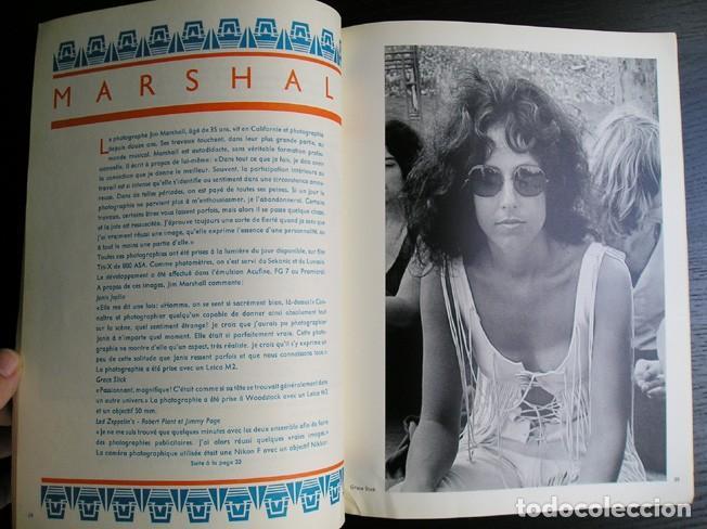 Cámara de fotos: Camera, ed. française. Janis Joplin. Louis Stettner, H.P.Schmid, Jim Marshall, Michele Vignes. 1972 - Foto 3 - 80410385