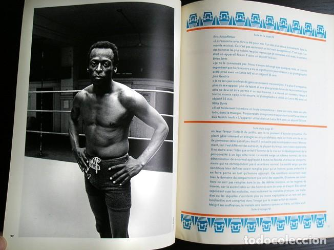 Cámara de fotos: Camera, ed. française. Janis Joplin. Louis Stettner, H.P.Schmid, Jim Marshall, Michele Vignes. 1972 - Foto 6 - 80410385