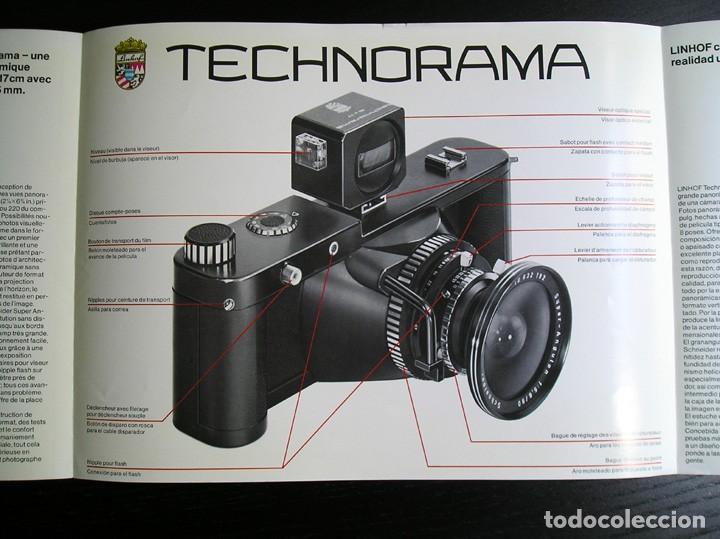 LINHOF TECHNORAMA 6 X 17 – FOLLETO PROMOCIONAL (Cámaras Fotográficas - Catálogos, Manuales y Publicidad)