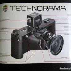 Cámara de fotos: LINHOF TECHNORAMA 6 X 17 – FOLLETO PROMOCIONAL. Lote 80411469