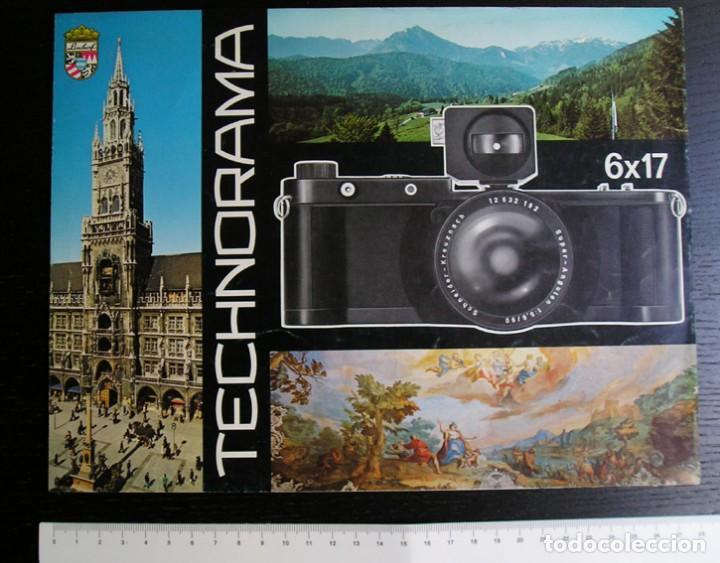 Cámara de fotos: Linhof Technorama 6 x 17 – folleto promocional - Foto 2 - 80411469