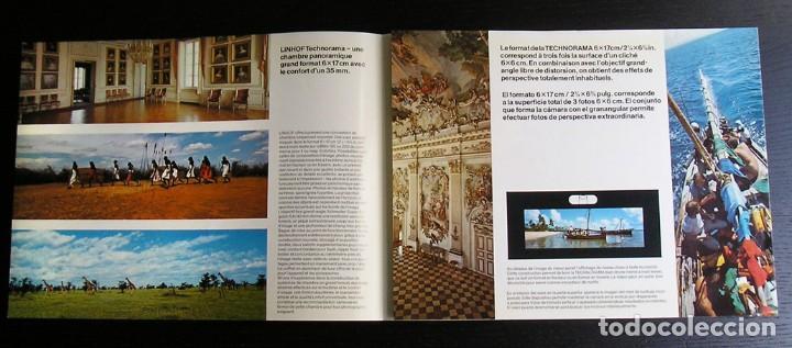 Cámara de fotos: Linhof Technorama 6 x 17 – folleto promocional - Foto 3 - 80411469