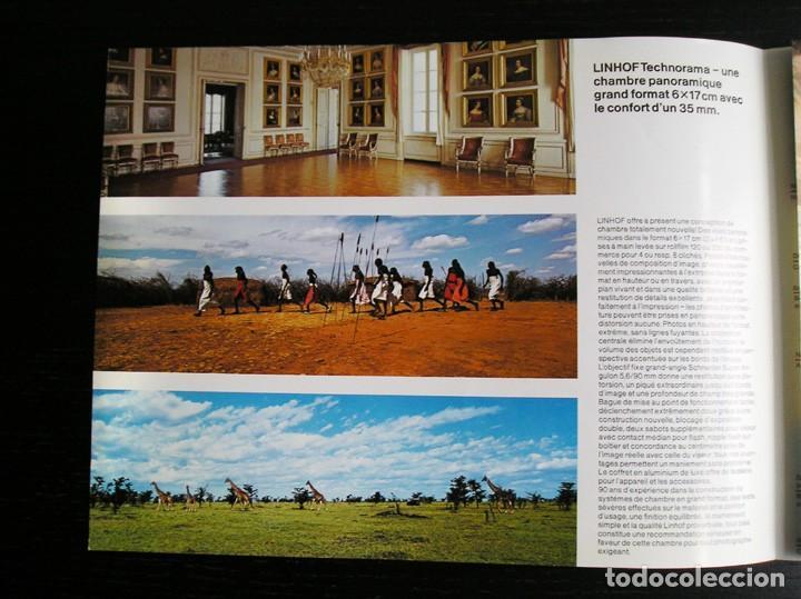 Cámara de fotos: Linhof Technorama 6 x 17 – folleto promocional - Foto 4 - 80411469