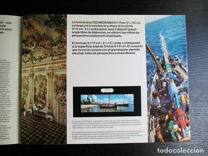 Cámara de fotos: Linhof Technorama 6 x 17 – folleto promocional - Foto 5 - 80411469
